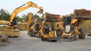 כלים לעבודות עפר ופינוי פסולת בניין